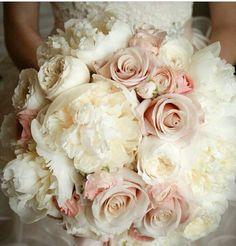 Bridal Bouquet - big puffy flowers