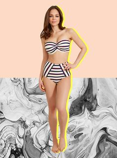 The Busty Girl's Guide To Buying A Bathing Suit #refinery29  http://www.refinery29.com/swimsuits-for-big-breasts