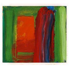 thorsteinulf:  Howard Hodgkin (British, b. 1932), Pyjamas, 2004. Oil on wood, 45.8 x 40.3cm.