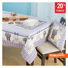 Transformă bucătăria într-un câmp înflorit de lavandă. #lavanda #bucatarie #mobexpert Valance Curtains, Dining Bench, Furniture, Shop, Home Decor, Decoration Home, Table Bench, Room Decor, Home Furnishings