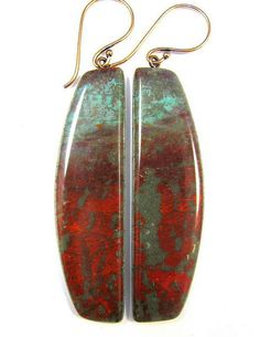 Polymer Clay Earrings  Southwestern Landscapes by DivaDesignsInc, $26.00
