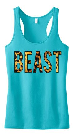 Bring the Beast out in your #Workout! BEAST Leopard Tank Top #Fitness Clothes by Nobull Woman Apparel. Only $24.99 on Etsy, look great and motivate! Click here to buy https://www.etsy.com/listing/168161018/beast-leopard-tank-top-workout-clothes?ref=shop_home_active_1&ga_search_query=beast