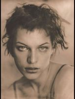 Mila Jovovich, Photographed by: Frank Ockenfels 3 © FW03