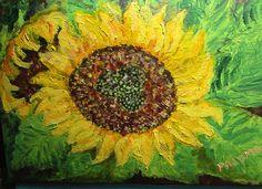 GALERIA PALOMO MARIA LUISA: GIRASOL... Painting, Art, Sunflowers, Painted Flowers, Art Background, Painting Art, Kunst, Paintings, Performing Arts