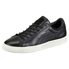 <p>Sleek and streamlined, the PUMA Basket originally hit the scene in the '60s as a basketball warm-up shoe, but it was quickly adopted by the hip hop crowd and transformed into a pop culture icon. Here, it joins the ranks of our new Citi Series with a distressed leather treatment for an urban, modern look.</p><p>Features:</p><ul><li>Distressed leather upper</li><li>Lace closure for a snug fit</li><li>Rubber outsole for grip</li><li>PUMA Formstrip at lateral and medial…