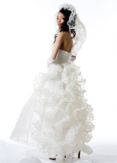 Yet another gorgeous dress by Rie Hosokai