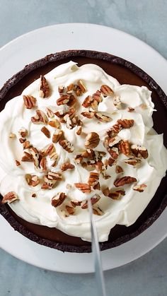 Tarte Brownie au caramel A gourmet brownie pie for all caramel lovers! Easy Cookie Recipes, Baking Recipes, Cake Recipes, Dessert Recipes, Brownie Recipes, No Bake Cookies, Cookies Et Biscuits, No Cook Desserts, Easy Desserts