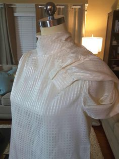 My Fair Lady Neck Tie Blouse by AmarieCollections on Etsy