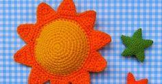 Hola!! ¿Cómo están? Edito para incorporar el tutorial del sol amigurumi en pdf   En este post habrá un surtidito de cosas porque h...