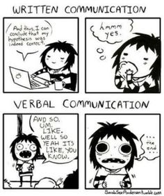 Verbal (really, Spoken) Communication vs Written Communication, as an Introvert