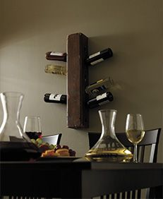 Lena Tibballs saved to Decor Ideas Bars, Wine Racks and Free DIY Wine Rack Plans: Vertical Wine Rack Plan from Home Hardware 29 Awesome Wooden Furniture Ideas For Your Weekend Wine Bottle Wall, Wine Rack Wall, Bottle Rack, Wine Bottle Holders, Wine Racks, Wine Wall, Wine Bottles, Cool Diy Projects, Home Projects