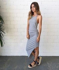 @becandbridge Fundermental Dress $130 | @spliceboutique The Lily Espadrilles $189 | spliceboutique.com.au