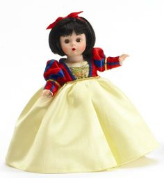 Madame Alexander dolls -Snow White...collected all from mcdonalds edition