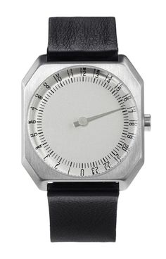 Slow Jo, 24-hour watches, one-hand.