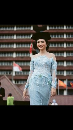 Modern Kebaya, Modern Hijab, Batik Fashion, Fashion Art, Kebaya Dress, Formal Dresses, Model, Dresses For Formal, Formal Gowns