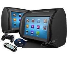 "Buenos días amig@s!! #FelizSabado Hoy en Carmultimediazone.com os recomendamos nuestra Pareja de #Reposacabezas #Xtrons con Pantalla Táctil 9"" a un precio increíble!! 2 Pantallas de 9"" táctiles en HD, Pantalla: Formato 16:9 800*480 hd, Sistema de vídeo: PAL / NTSC / Auto, Reproduce DVD / CD / VCD / MP3 / MP4 / DivX , SD y USB ...¿Quieres TODA la INFO? Haz click aquí"