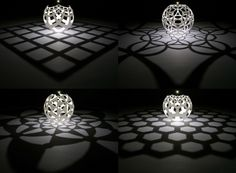 3ders.org - From 3D to 4D: Artist uses 3D printing to cast 'shadows' of 4D objects | 3D Printer News & 3D Printing News