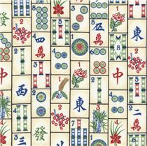 Timeless Treasures Mahjong Tiles Game Cotton Fabric By The Yard & Garden Michael Miller, Tiles Game, Timeless Treasures Fabric, Textiles, Modes4u, Kawaii, Chinese Culture, Fabric Patterns, Fantasy