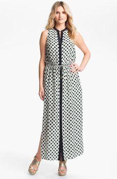 MICHAEL Michael Kors Paisley Print Maxi Dress available at #Nordstrom