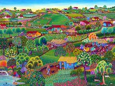 My Colorful Nicaragua- Nica Folk Art