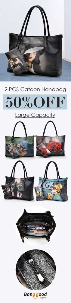 I love those fashionable and beautiful bags from banggood.com. Find the most suitable and casual bags at incredibly low prices here.#bag#sale Crossbody Bags For Travel, Travel Handbags, Chain Crossbody Bag, Leather Crossbody Bag, Women's Bags, Purses And Bags, Cat Wallet, Cartoon Bag, Cat Purse