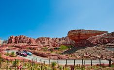 Radiator Springs Racers in Cars Land - Disney California Adventure I cannot wait to go back to CA to visit CarsLand!