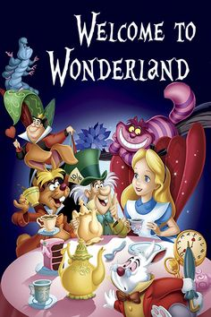 "Alice in Wonderland poster  | by ""WithLoveShannon"" on Etsy"