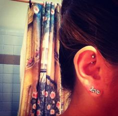 how to get a rook piercing out
