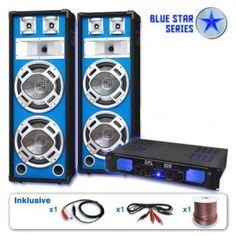 Serie Blue Star Bassveteran Equipo sonido profesional 1600W: Haz click para agrandar la imagen