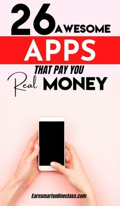 Need apps that pay real money? Here are 26 best money making apps to help you earn extra cash from home. These money apps will show you how to make money online and offline. Learn how to make cash quick starting today! #moneymakingapps #appsthatmakemoney #makecashquick #earnmoney #makemoney #sidehustles #easyonlinejobs Earn Extra Cash, Making Extra Cash, Extra Money, Make Side Money, Way To Make Money, Make Money Online, Best Money Making Apps, Money Saving Tips, Easy Online Jobs