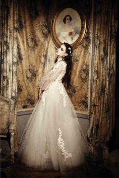 Astrid Berges-Frisbey by Ellen von Unwerth for Vogue Italia