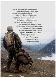 Marine Prayer USMC Afganistan 5x7 Digital Photoprint by Compawsit
