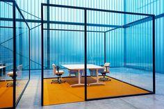 GLASS OFFICE PARTITION STRIJKERS PARTITION SYSTEM | LENSVELT
