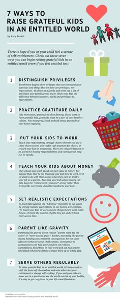 7 Ways to Raise Grateful Kids in an Entitled World • Hello Sensible