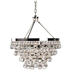 Robert Abbey Bling Collection Convertible Chandelier - #K3788 | www.lampsplus.com