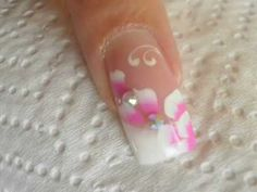 uñas diseño de novia- bridal nail art