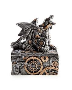 Steampunk Dragon Trinket Box - Tragic Beautiful buy online from Australia
