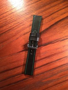 Rare Green Shell Cordovan Watch Strap from 922Leather.com