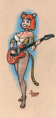 Josie of Pussycat fame by *MJBivouac on deviantART