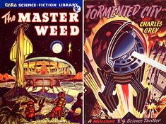 Science Fiction and Fantasy Reading Experience: Exceptional British Scifi Artwork from the 1950s