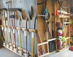Do It Yourself Garage Storage- CLICK THE IMAGE for Many Garage Storage Ideas. #garage #garagestorage