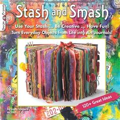 COOL VIDEO - Cindy Shepard leads students through some of the techniques she uses to turn a paper bag and old envelopes into a fun art journal.
