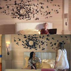 gefii tm mariposa in gossip girl 12pcs pack - Blair Waldorf Schlafzimmer Dekor