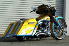 1000+ images about Paint jobs on Pinterest   Baggers ...