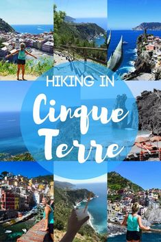 "Find out everything you need to know about hiking the ""Sentiero Azzurro"", the hiking trail that connects the five towns along the Italian coastline that form Cinque Terre. // Find Inspiration, Bucket List Ideas, Travel Bucket List Things To Do, Italy Travel Tips, Rome Travel, Travel Europe, Budget Travel, Things To Do In Italy, Cinque Terre Italy, Visit Italy, Europe Destinations, Holiday Destinations"