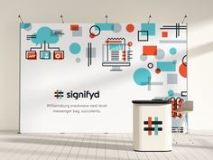 Booth Design for Signifyd by Jason Caldwell