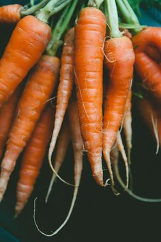 carrots via A Thought For Food