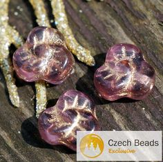 ✔ What's Hot Today: Clear Purple Gold Czech Glass Flat Flower Beads Trefoil Shamrock 9mm 6pcs https://czechbeadsexclusive.com/product/clear-purple-gold-czech-glass-flower-beads-gold-purple-beads-flat-czech-flower-beads-czech-glass-purple-gold-trefoil-shamrock-bead-9mm-10pc/?utm_source=PN&utm_medium=czechbeads&utm_campaign=SNAP #CzechBeadsExclusive #czechbeads #glassbeads #bead #beaded #beading #beadedjewelry #handmade