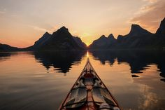 Fjord is a funny word and a great sight. Norway is the fjord capital of the world, and Tomasz Furmanek brings us great pictures of them from his kayak trips. Lofoten, Epic Photos, Cool Photos, Les Fjords, Nature Photography, Travel Photography, Norway Fjords, Visit Norway, Canoe And Kayak