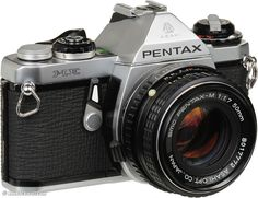 I'll always be loyal to Pentax - this is just like my first camera from my dad - I still have it!